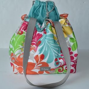 Thirty One insulated floral pattern lunch bag